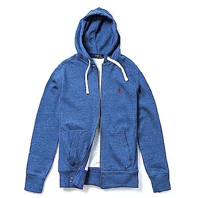 Polo Ralph Lauren 經典刺繡標誌鋪棉連帽外套-皇家藍
