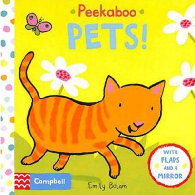 Peekabooks:Peekaboo Pets 躲貓貓-寵物篇翻翻硬頁書