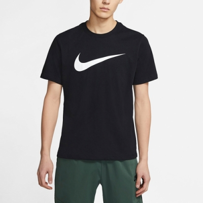 Nike Sportswear Swoosh 男短袖上衣 黑-DC5095010