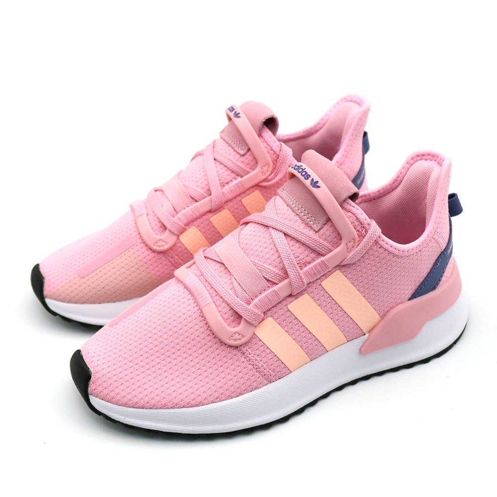 ADIDAS U_PATH 女 粉 休閒鞋