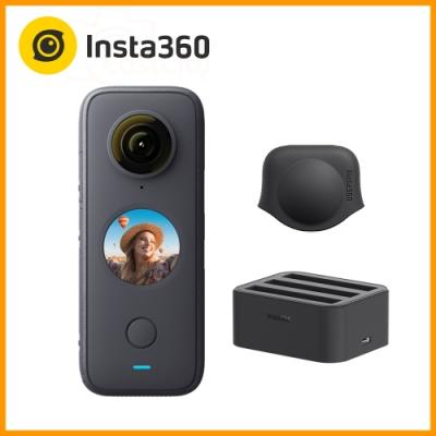 Insta360 ONE X2 全景相機 (東城代理商公司貨) 贈原廠充電器+鏡頭保護套