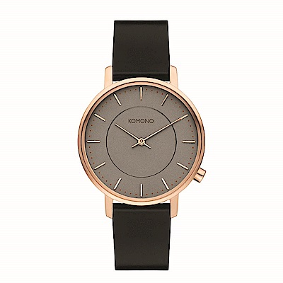 KOMONO Harlow 腕錶-鉛灰色