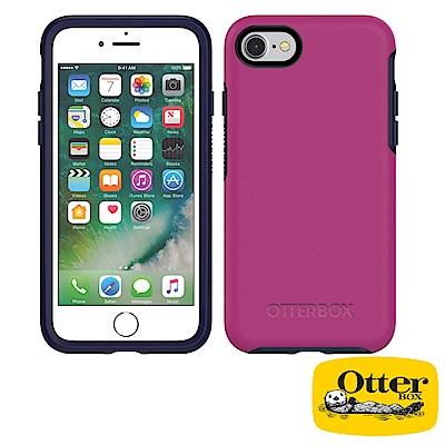OtterBox iPhone7 / iPhone8炫彩幾何系列保護殼-黑醋栗