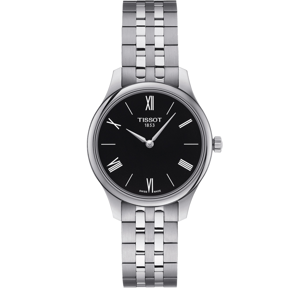 TISSOT T-TRADITION 蟬翼超薄女錶(T0632091105800) product image 1