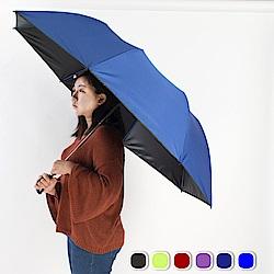 雙龍TDN 大王傘 超撥水降溫晴雨傘-皇家藍