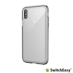 SwitchEasy Crush iPhone Xs/X 吸震防摔保護殼-透明