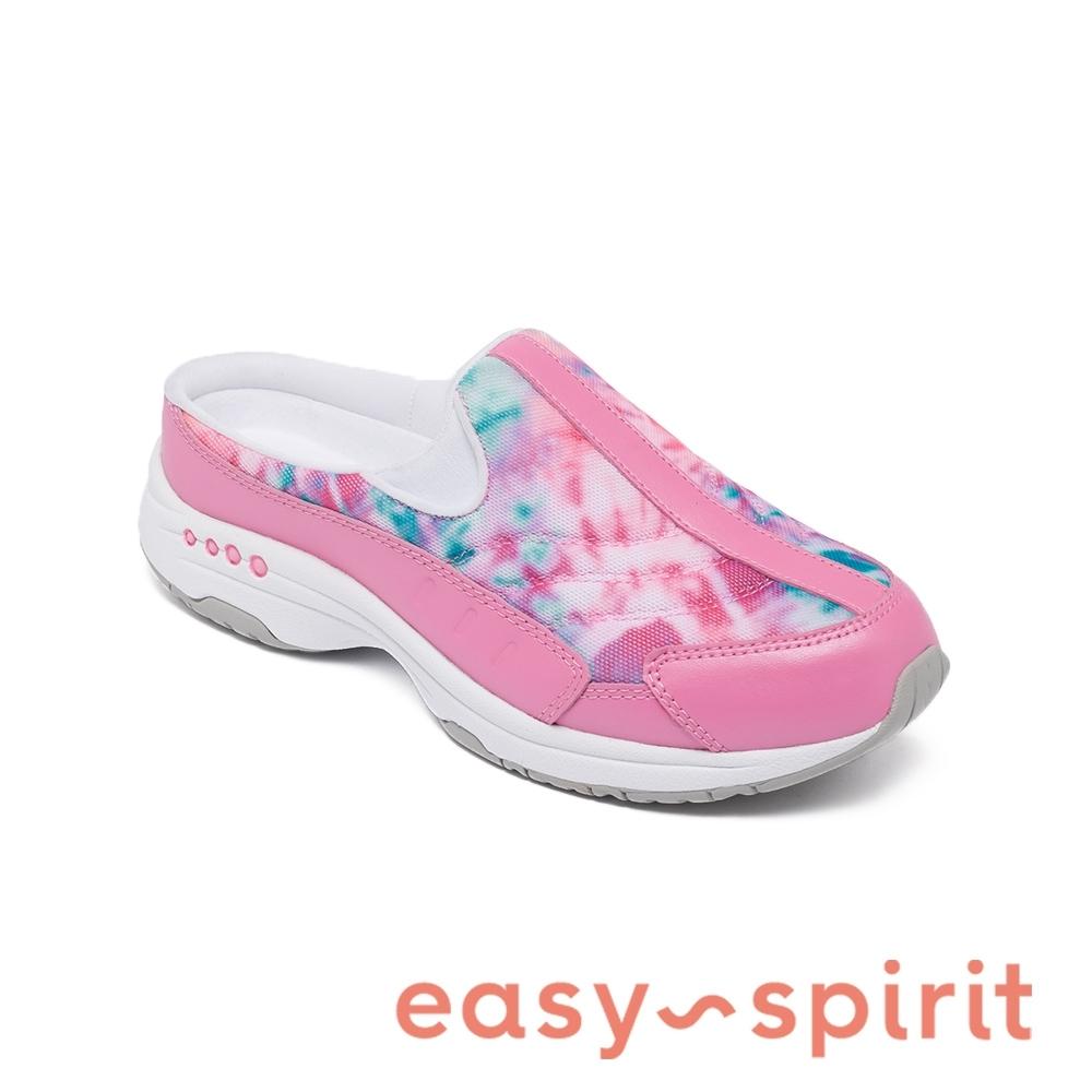 Easy Spirit-seTRAVELTIME450 舒適渲染懶人休閒拖鞋-粉色