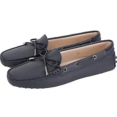 TOD'S Gommino 經典休閒豆豆鞋(女鞋/夜藍色)
