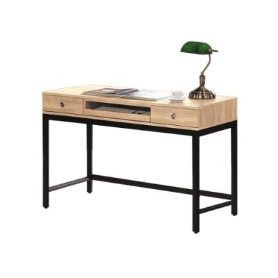 柏蒂家居-肖恩工業風4尺書桌/電腦桌/工作桌-119x58x80cm