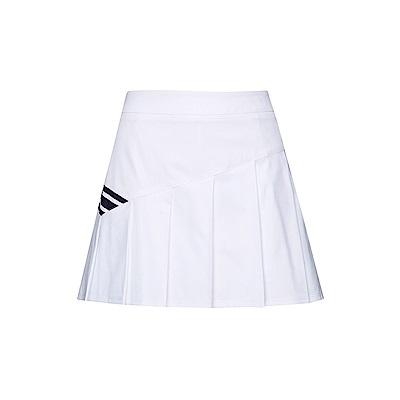 FILA 女款平織短裙-白色 5SKT-1460-WT