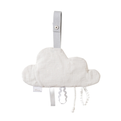 10mois 雲朵響紙安撫巾