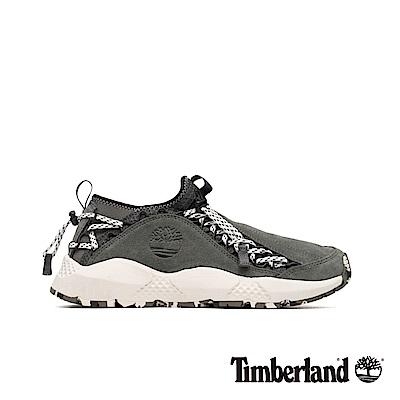 Timberland 男款NNH灰色正絨面皮革運動鞋|A1WBF