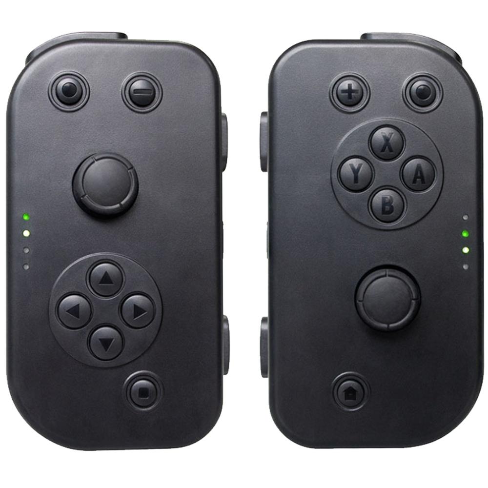 Nintendo任天堂 Switch專用 Joy-Con左右手把 (副廠)(黑/黑)