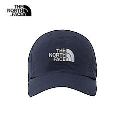 The North Face北面男女款深藍色防曬透氣運動帽|CF7WULB