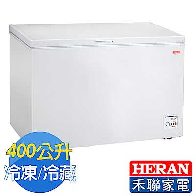 [無卡分期-12期]HERAN禾聯 400L臥式冷凍櫃HFZ-4061