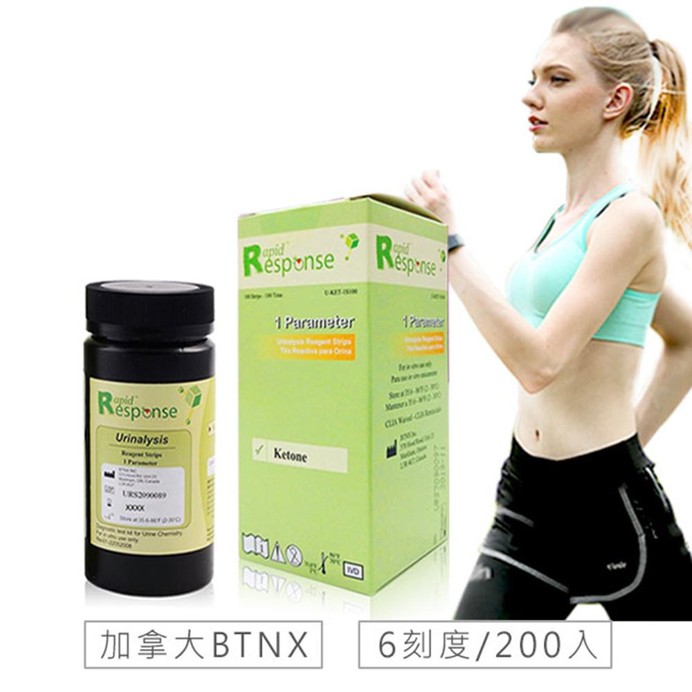 [時時樂限定]加拿大BTNX 脂肪代謝尿酮檢測試紙100入x2盒