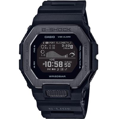 CASIO 卡西歐 G-SHOCK 潮汐電子錶GBX-100NS-1-黑/50.9mm