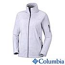 Columbia 哥倫比亞 女款-立領刷毛外套-灰藍 UER10120CB