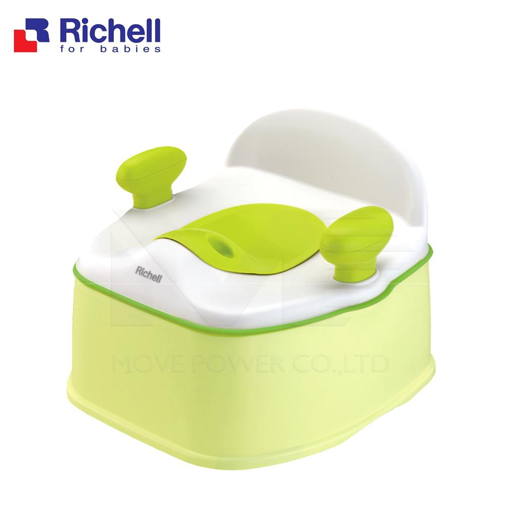 日本《Richell-利其爾》Pottis椅子型3階段訓練便盆