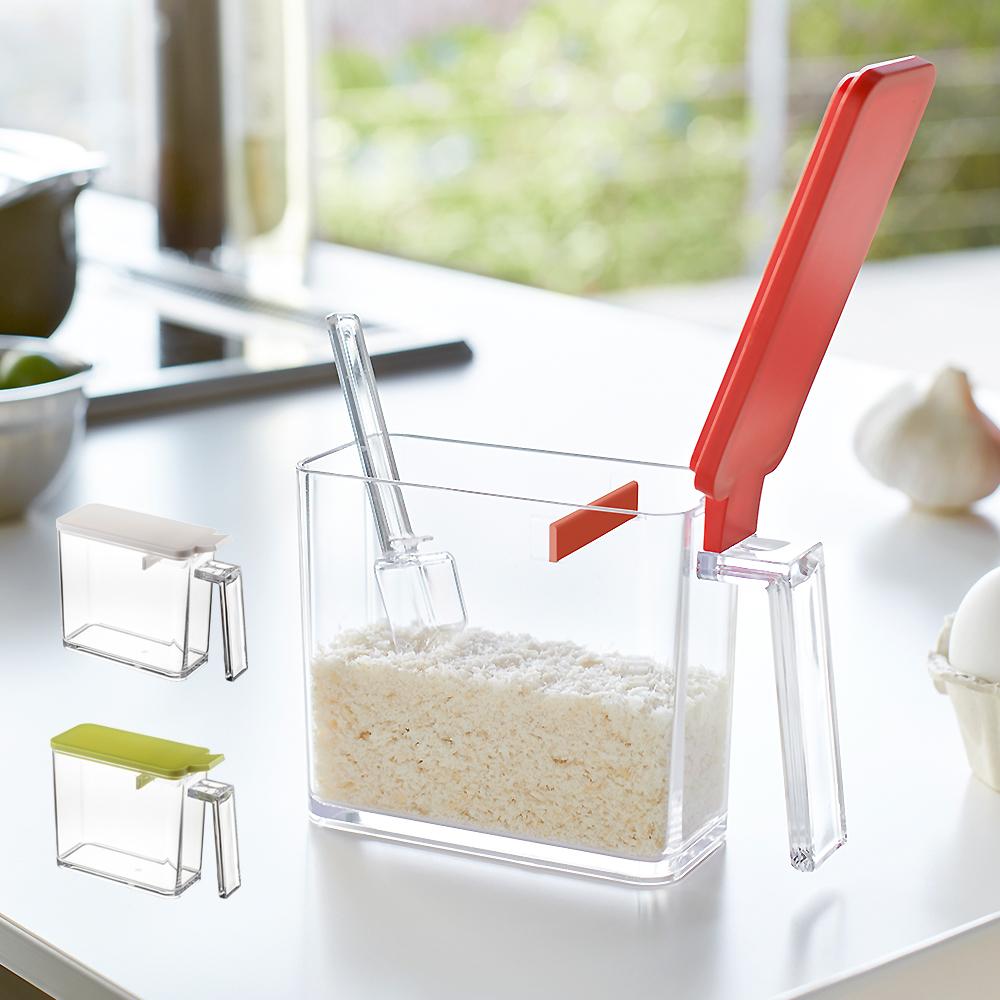 YAMAZAKI AQUA調味料盒(S)-白/綠/紅