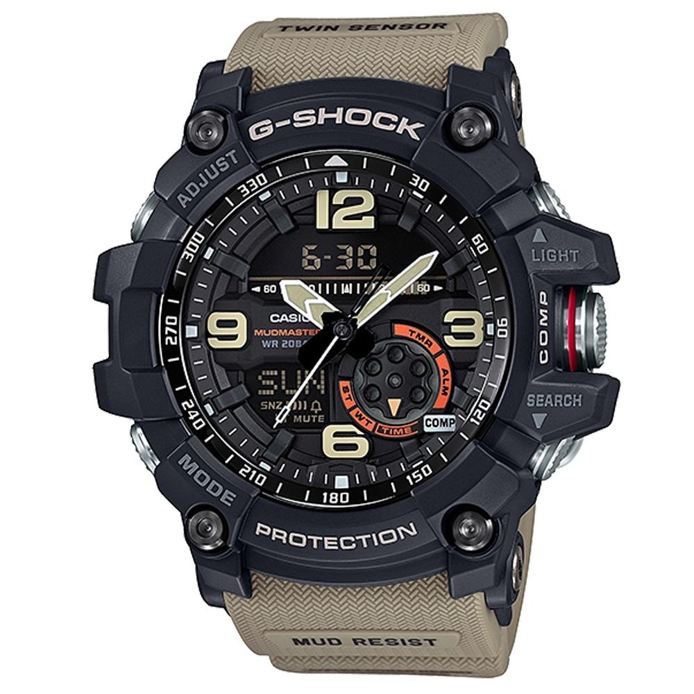 CASIO卡西歐 極限大陸G-SHOCK概念錶(GG-1000-1A5)