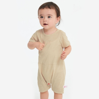 【mamaway 媽媽餵】BABY 剪接平口褲包屁衣(共2色)