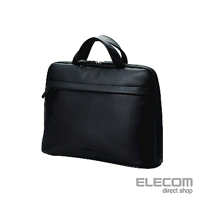 ELECOM BETSUMO 軟皮手提包13.3吋-黑