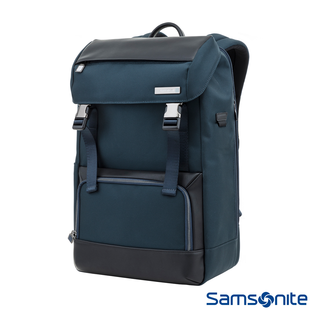 Samsonite新秀麗 Sefton商務收納型筆電後背包15 (海軍藍)
