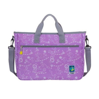 【IMPACT】樂學系列-背提兩用袋-才藝袋-紫 IM00S01PL