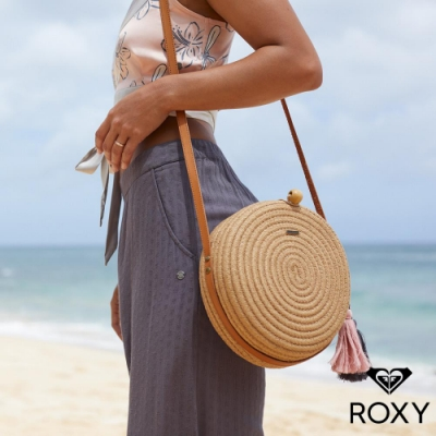 【ROXY】SISTER小賈老婆夏日草編聯名肩背包