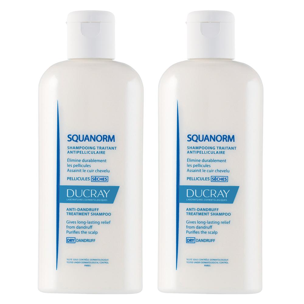 DUCRAY護蕾 舒緩抗屑洗髮精200ml(2入特惠)