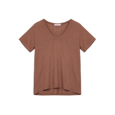 Shester55-舒適寬鬆V領上衣(兩色)-女【TSH205】