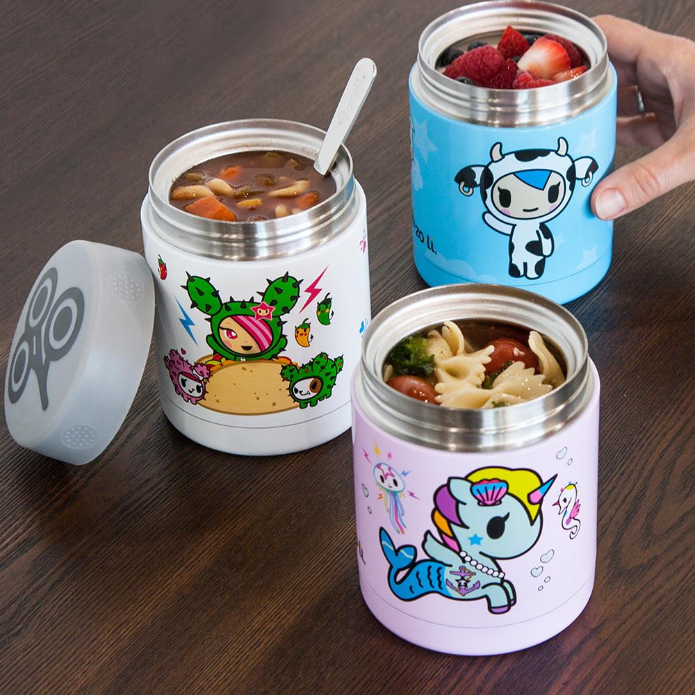 美國 Zoli x Tokidoki 聯名款不鏽鋼食物保溫盒 (3種款式)