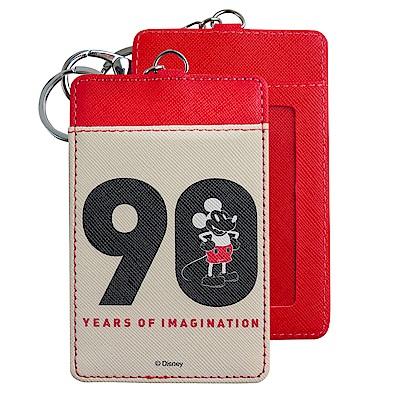 Disney迪士尼米奇90周年證件套/票卡夾 90米奇紅