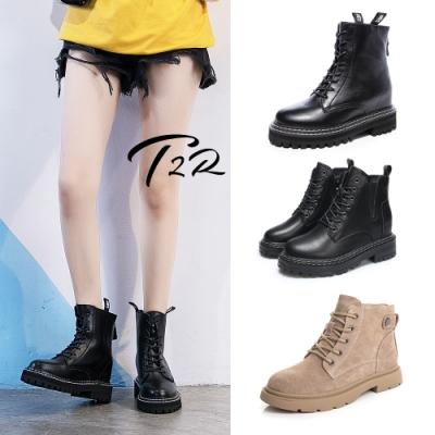 [雙12限定]-T2R-正韓空運-真皮隱形增高鞋-增高4.5-8公分-多款