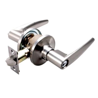 廣安 LH607 水平鎖 附三支鎖匙 60mm 內側自動解閂 管型板手鎖