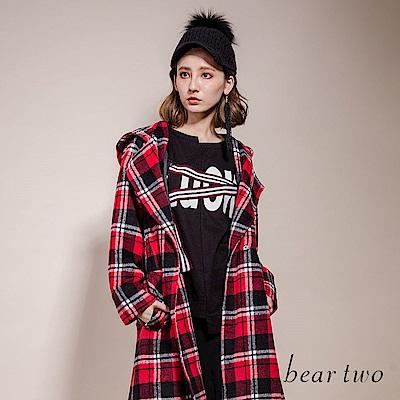 beartwo LUCK不規則造型T恤(二色)
