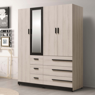 H&D 瑪爾斯5.3尺組合衣櫥
