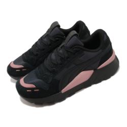 Puma 休閒鞋 RS 2 Mono Metal 女鞋 經典款 舒適 簡約 厚底 球鞋 穿搭 黑 粉 37467002