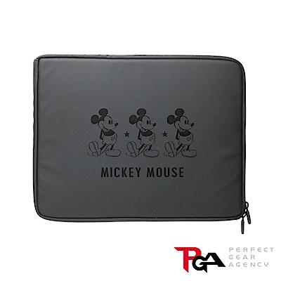 迪士尼 13.3吋筆電/平板防潑水 減震 保護袋 收納袋-米奇(黑)