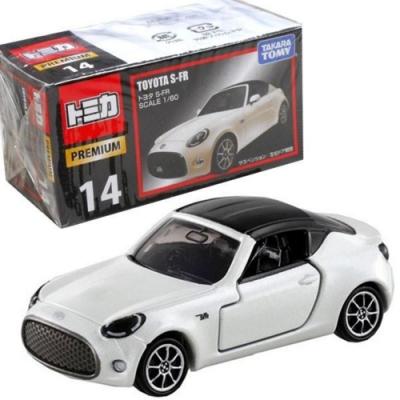 任選TOMICA PREMIUM 14 TOYOTA 豐田 S-FR TM85546 白 多美小汽車