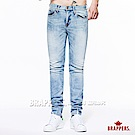 BRAPPERS 男款 Boy Friend系列-中腰直筒褲-雪花淺藍
