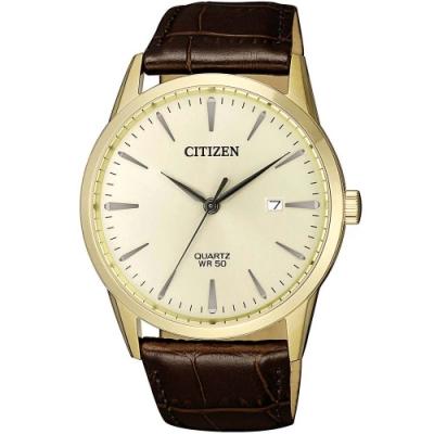 CITIZEN星辰 紳士時尚手錶(BI5002-14A)-38mm