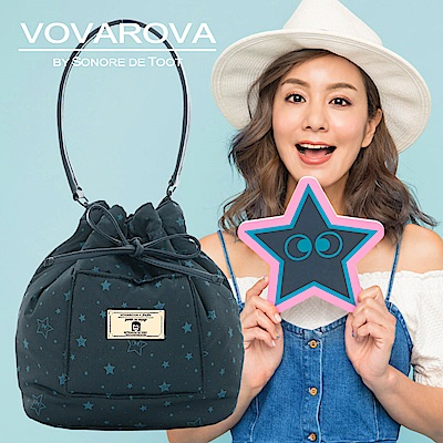 VOVAROVA x 莎莎-口袋水桶包-滿天星莎-環遊世界系列