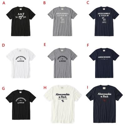 [時時樂限定]Abercrombie & Fitch 短袖 T恤  (9款任選)