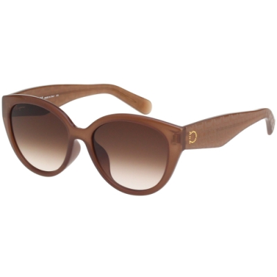 Salvatore Ferragamo 太陽眼鏡 (咖啡裸膚色)