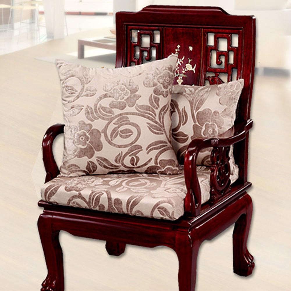 凱蕾絲帝 濃情牡丹坐墊(54x56CM)
