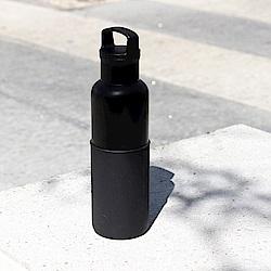 美國HYDY時尚保溫瓶_CinCin Black 午夜黑-黑瓶 590ml