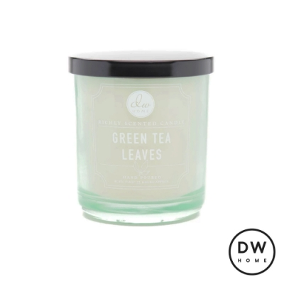 DW HOME 美國香氛 經典系列 翠綠葉風 附蓋晶透玻璃罐 283g