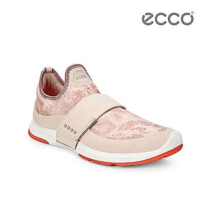 ECCO BIOM AMRAP 輕量360度環繞運動訓練鞋-淺粉